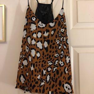 Top Shop leopard top